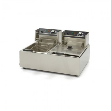 Electric fryer 6+6 liters