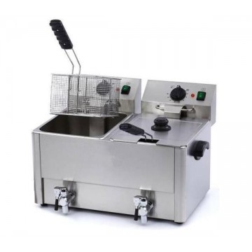 Electric fryer 8 + 8 liters...