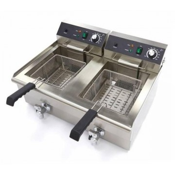 Electric fryer 16+16 liters...